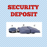 Sleep System Security Deposit at MassageTableRentals.com