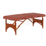 Our newer exam tables are a pumpkin color