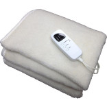 Deluxe Fleece Massage Table Warmer by ibodycare, with Timer
